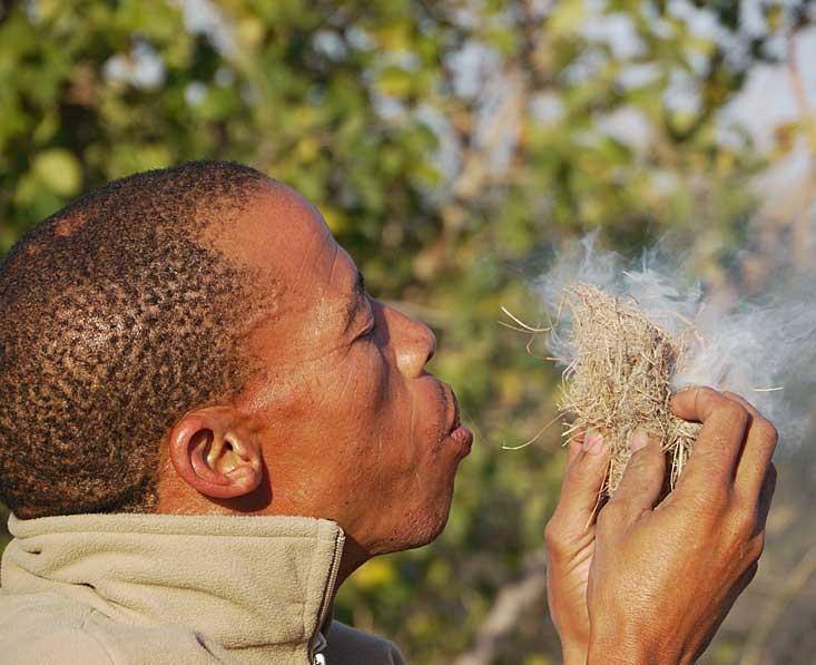 Kalahari-bushman