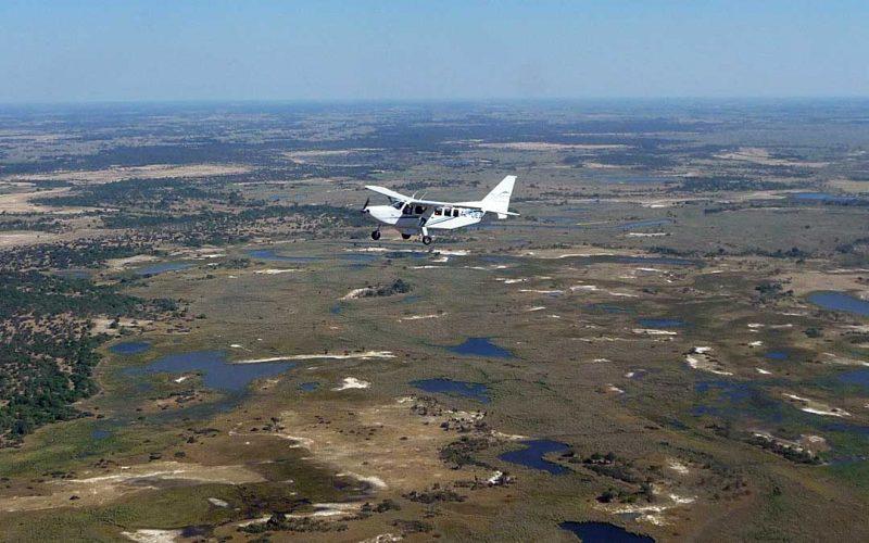 flying over delta