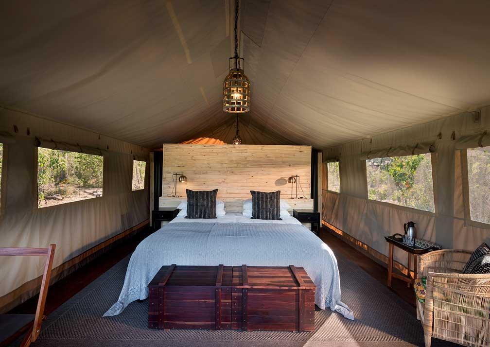 Khwai Tented Camp bedroom