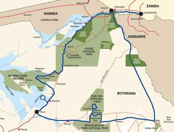 Lion-Safari-Map