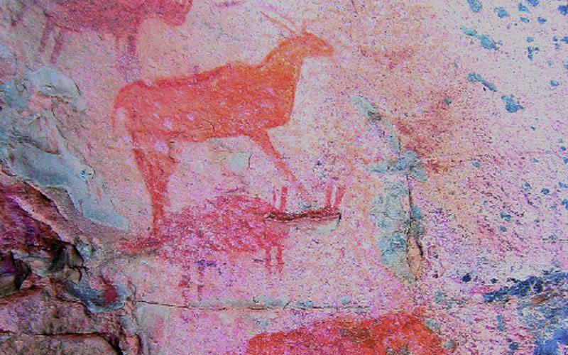 Tsodilo Hills - cave art