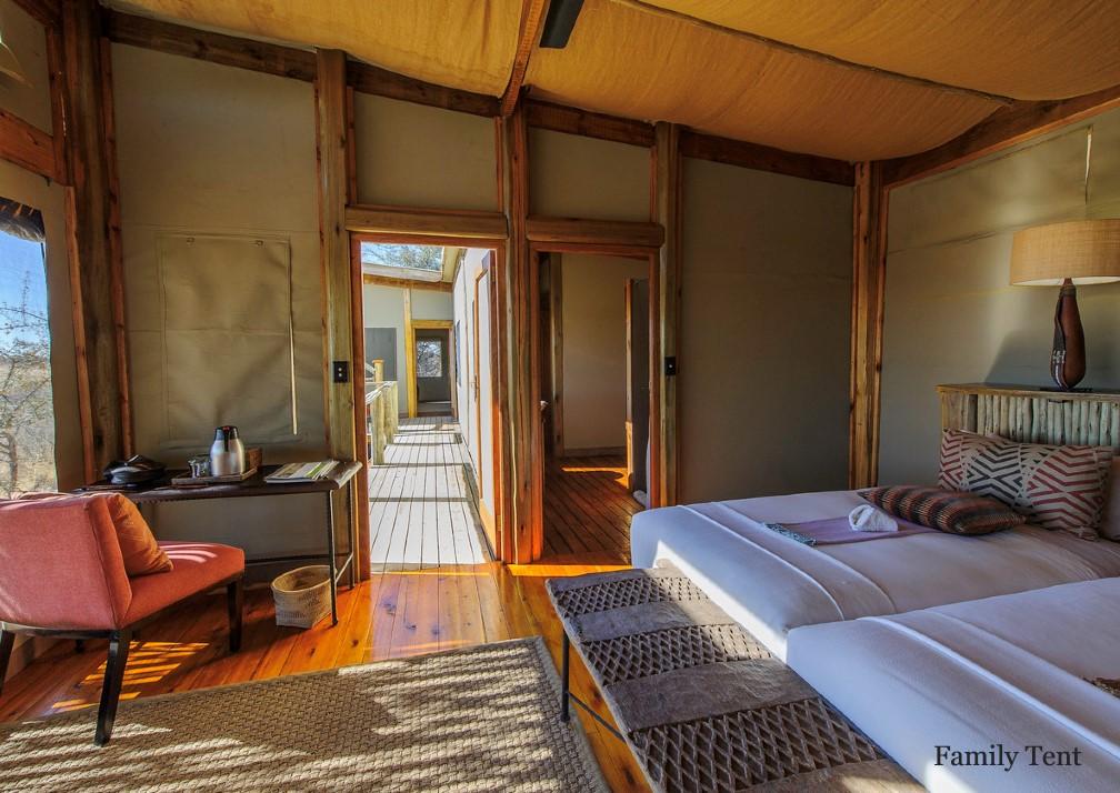 Kalahari Plains tent