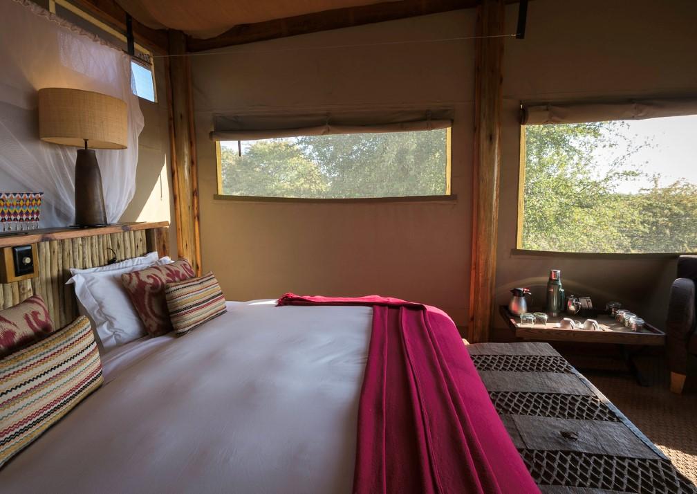 Kalahari Plains bedroom