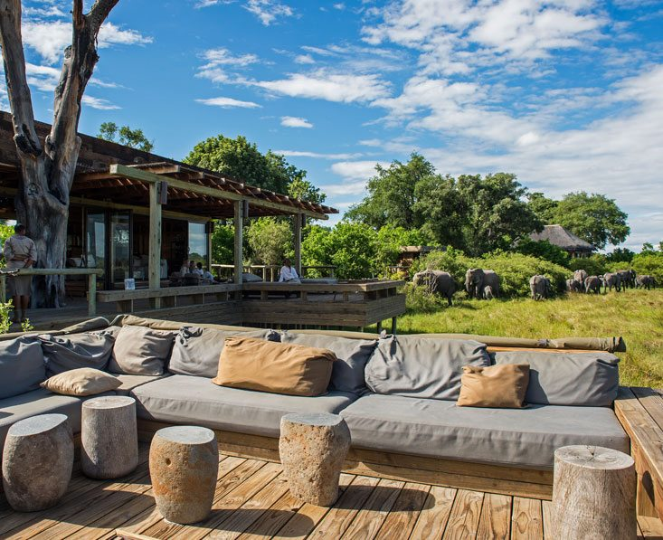 luxury botswana camp