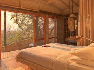 Sandibe safari lodge room