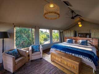 Pelo Camp room
