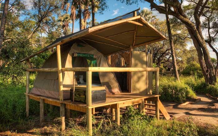 Oddballs Camp tent