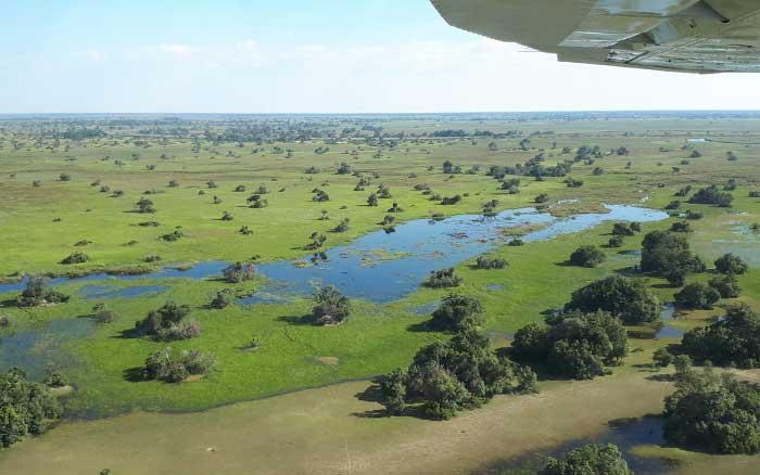Setari aerial view