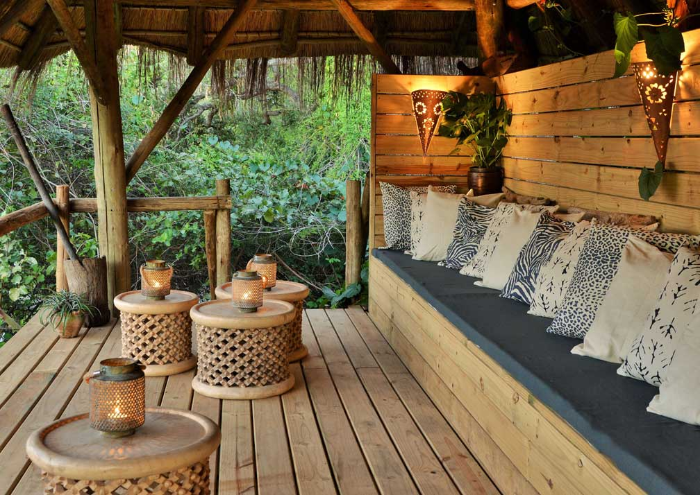 Chobe Bakwena Lodge balcony
