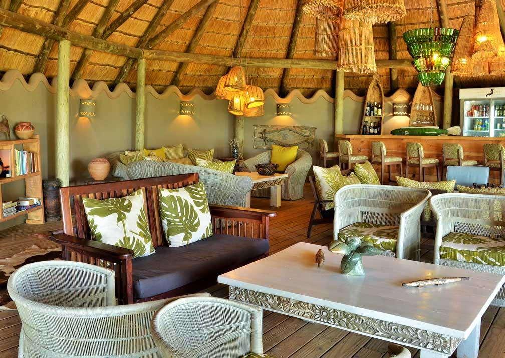 Chobe Bakwena Lodge lounger