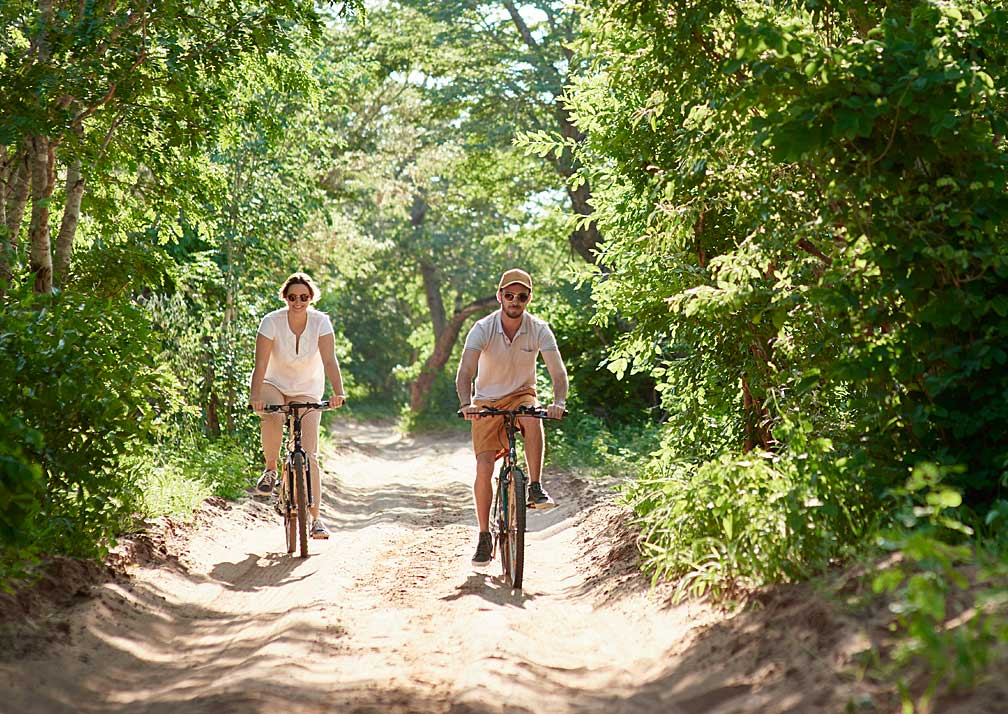 Sanctuary Chobe Chilwero bike riding