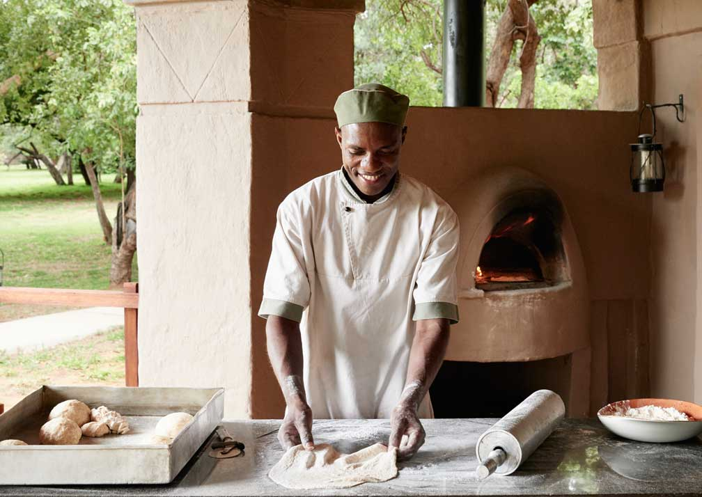 Sanctuary Chobe Chilwero kitchen