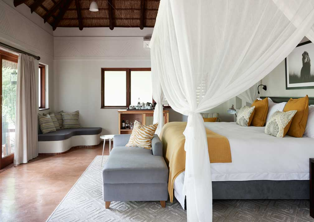 Sanctuary Chobe Chilwero luxury suite