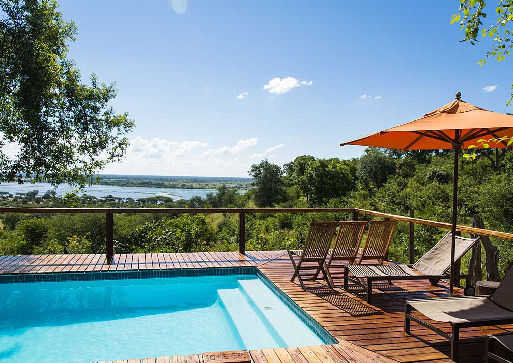 Chobe Elephant Camp pool