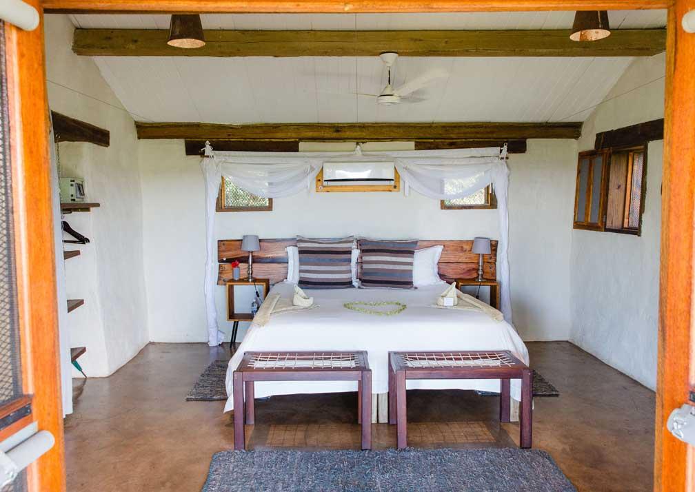 Chobe Elephant Camp interior