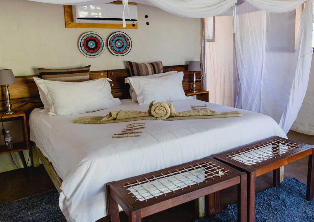 Chobe Elephant Camp bedroom