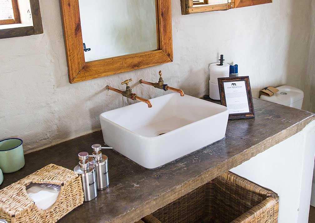 Chobe Elephant Camp bathroom