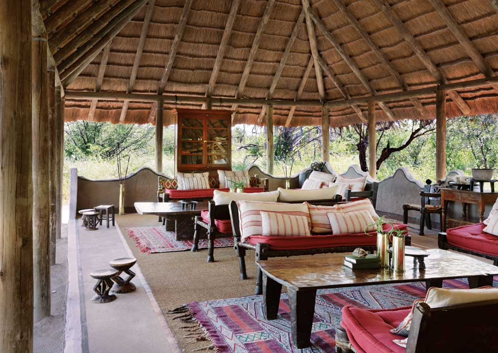 Camp Kalahari lounge
