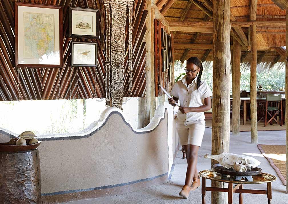 Camp Kalahari lobby