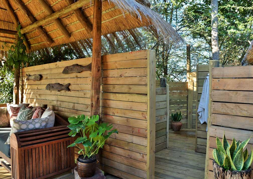 Chobe Bakwena Lodge honeymoon suite interior