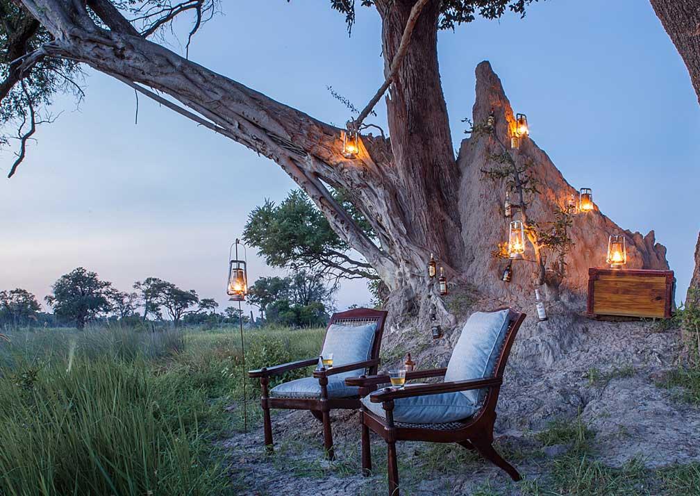 Kanana Camp outdoor seating