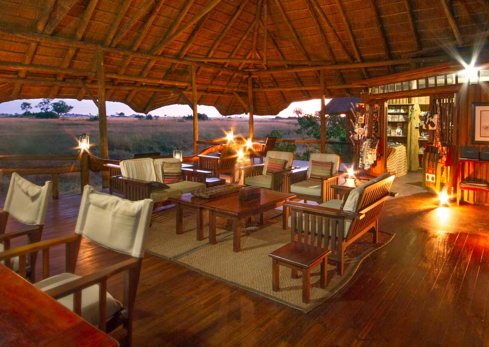 Lebala Camp lounge