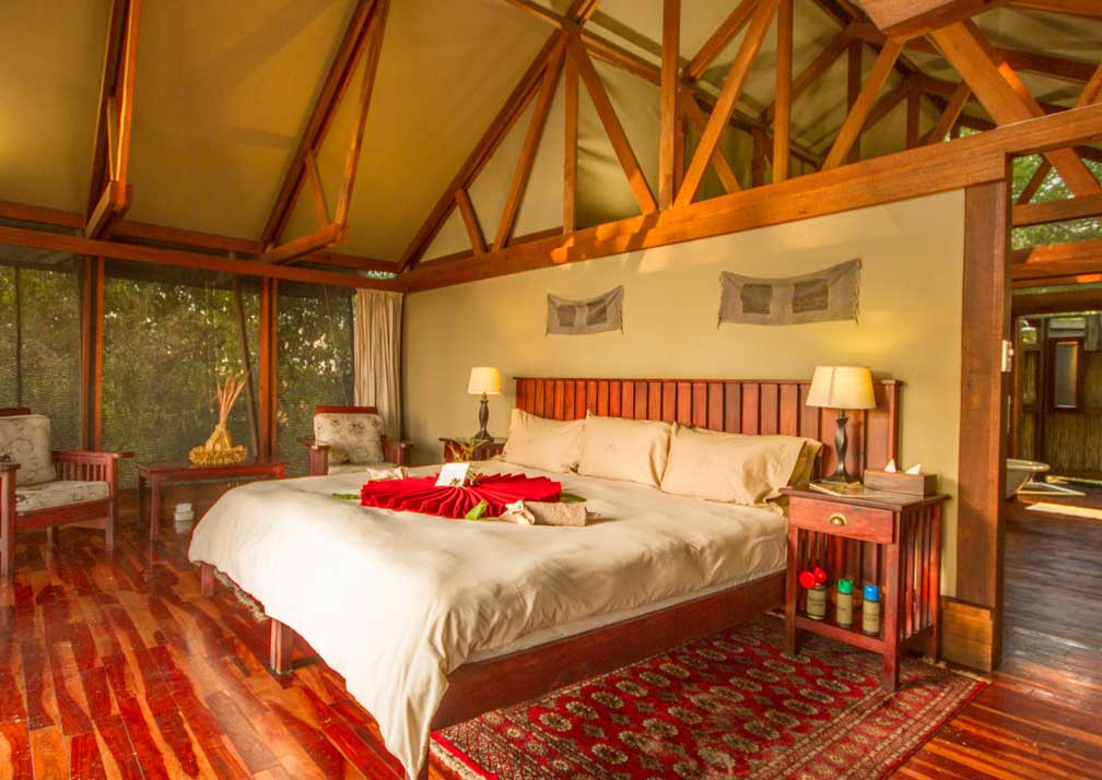 Lebala Camp bedroom