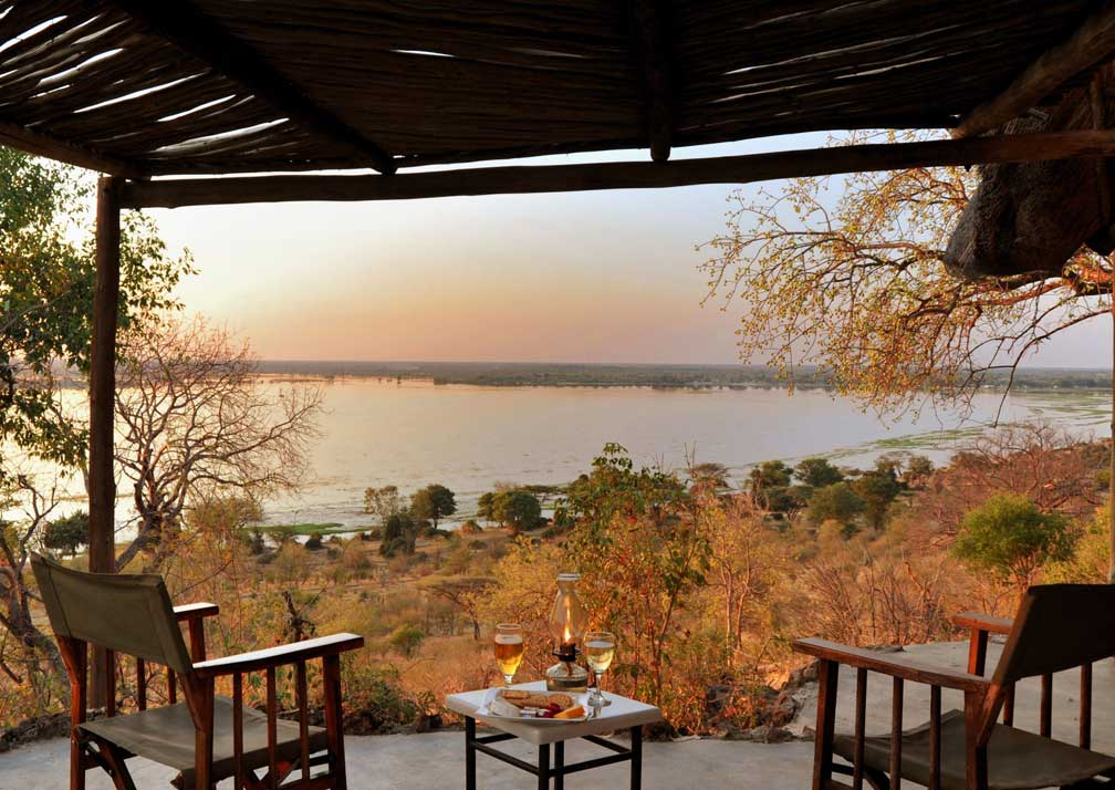 Muchenje Safari Lodge veranda