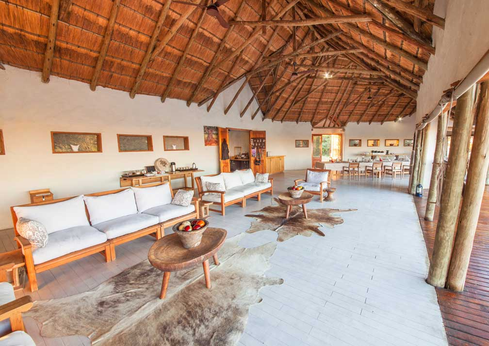 Nxai Pan Camp lounge