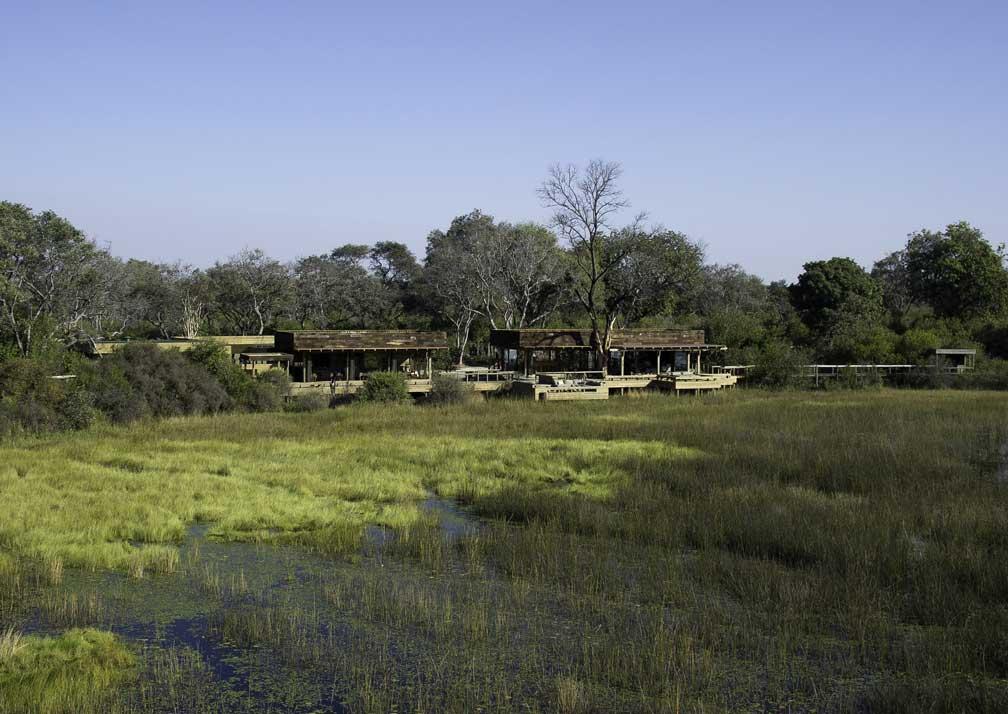 Vumbura Plains camp