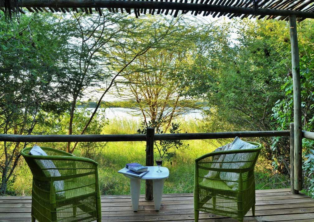 Chobe Bakwena Lodge family balcony