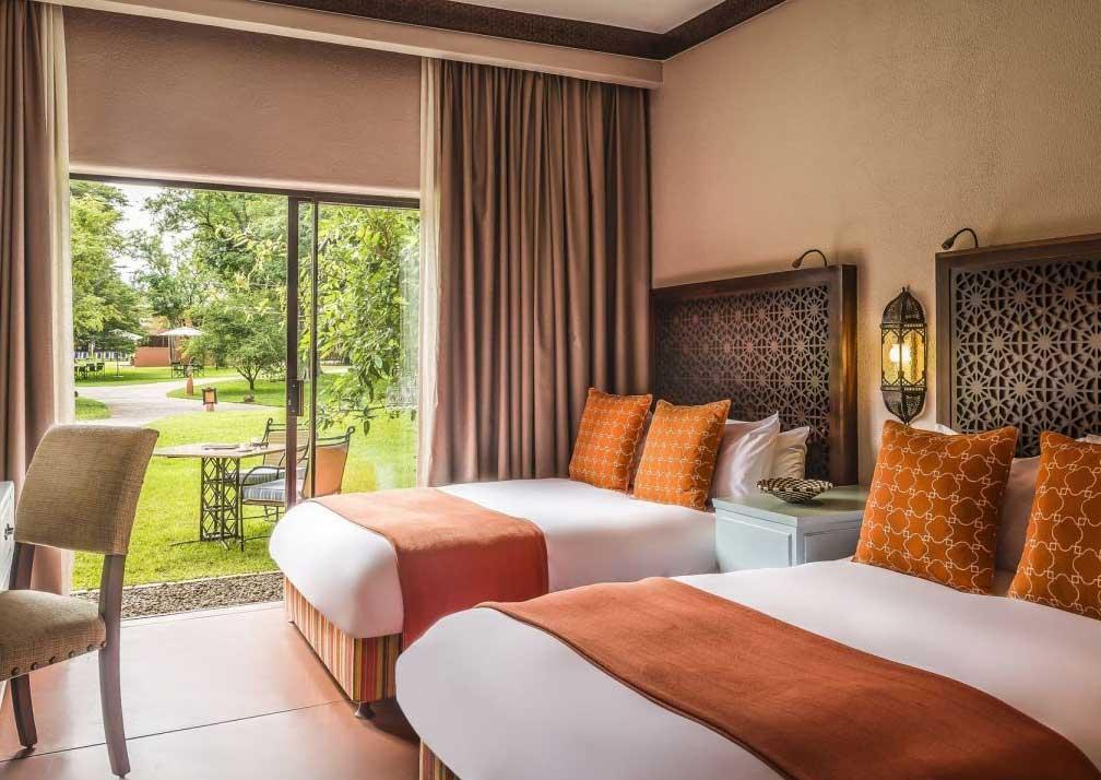 Avanri Victoria Falls resort family room