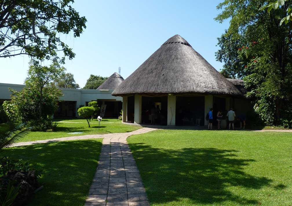 A'Zambezi River Lodge grounds