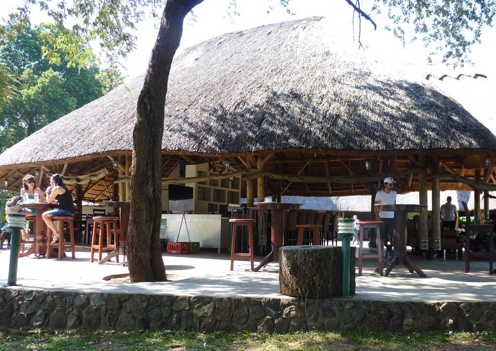 A'Zambezi River Lodge main camp