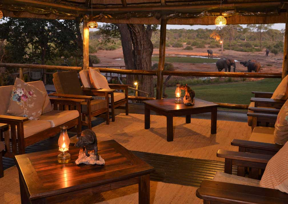 Elephant Valley Lodge sheltered seating