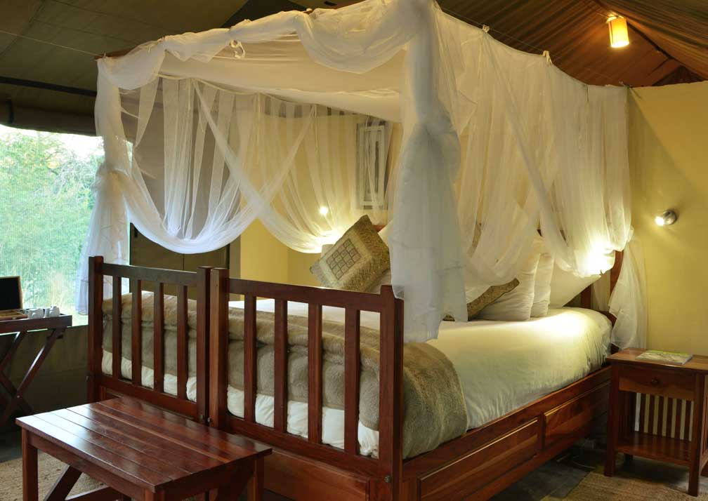 Elephant Valley Lodge bed