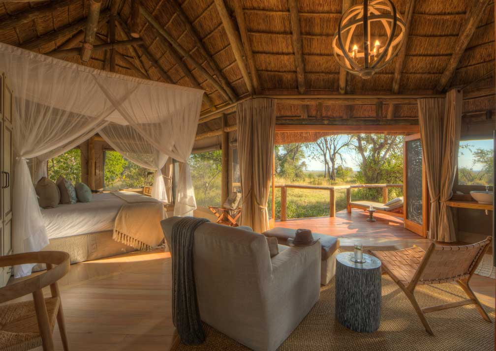 Camp Moremi room interior