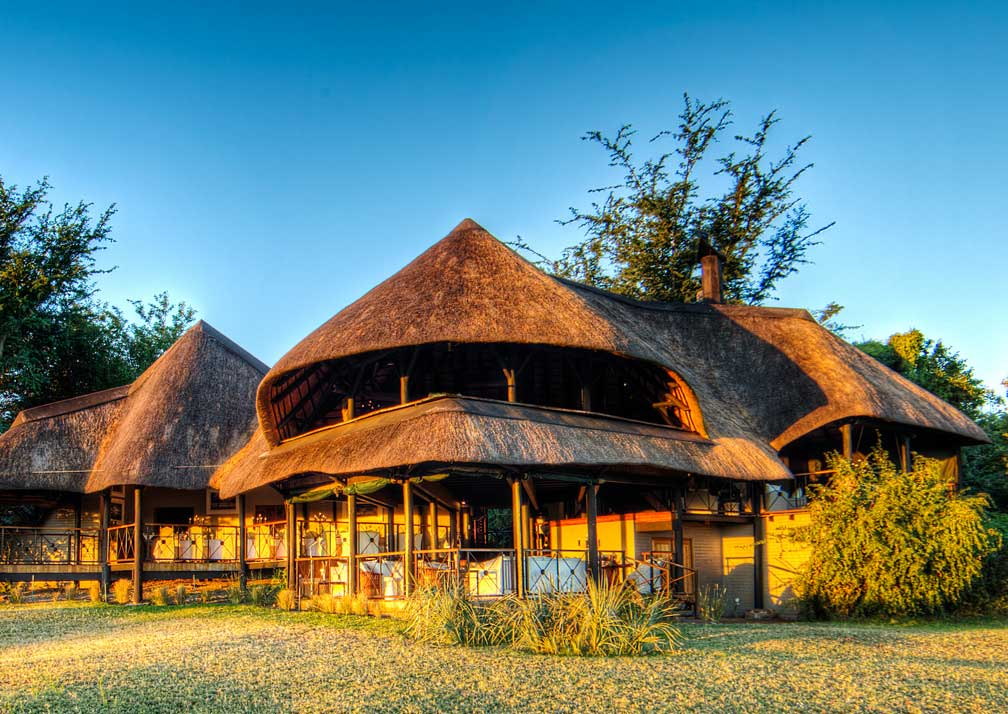 Chobe Savanna Lodge exterior