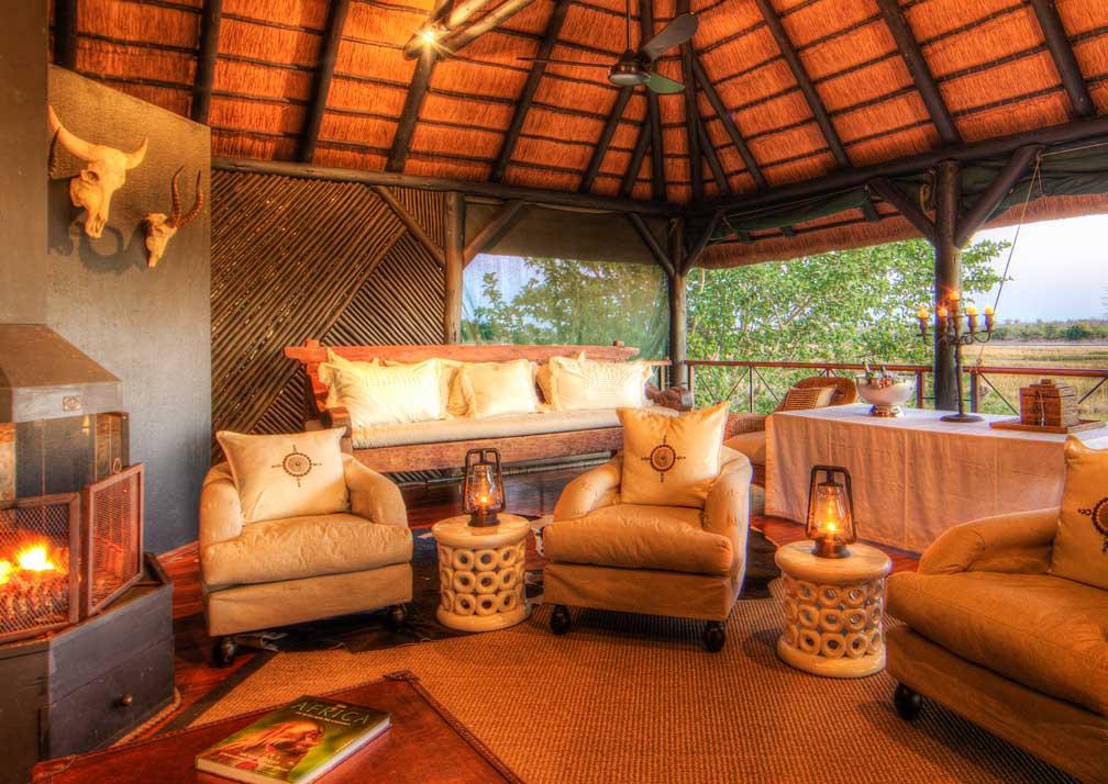 Chobe Savanna Lodge lounge
