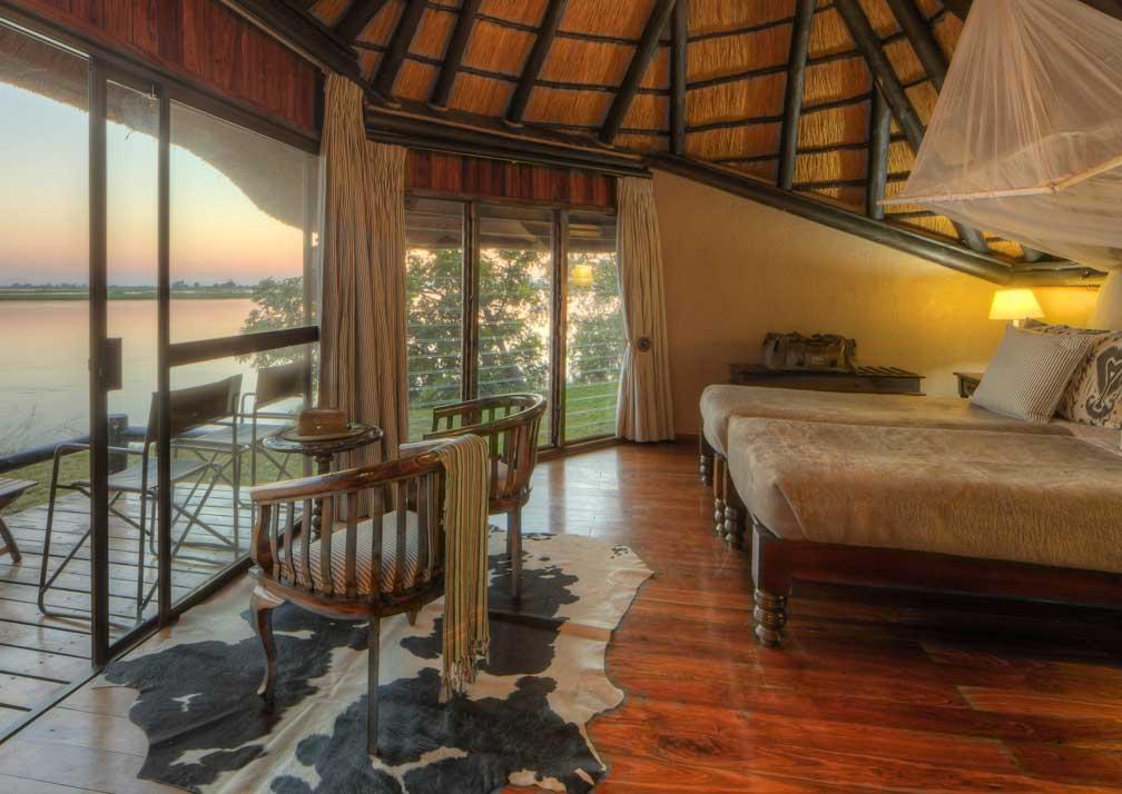 Chobe Savanna Lodge bedroom