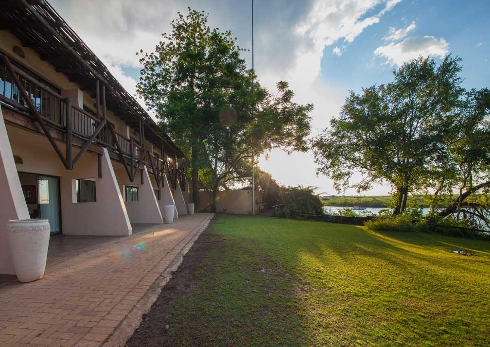 Chobe Safari Lodge safari room exterior
