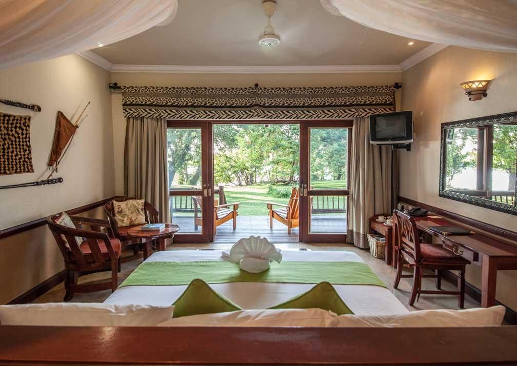 Chobe Safari Lodge safari room interior