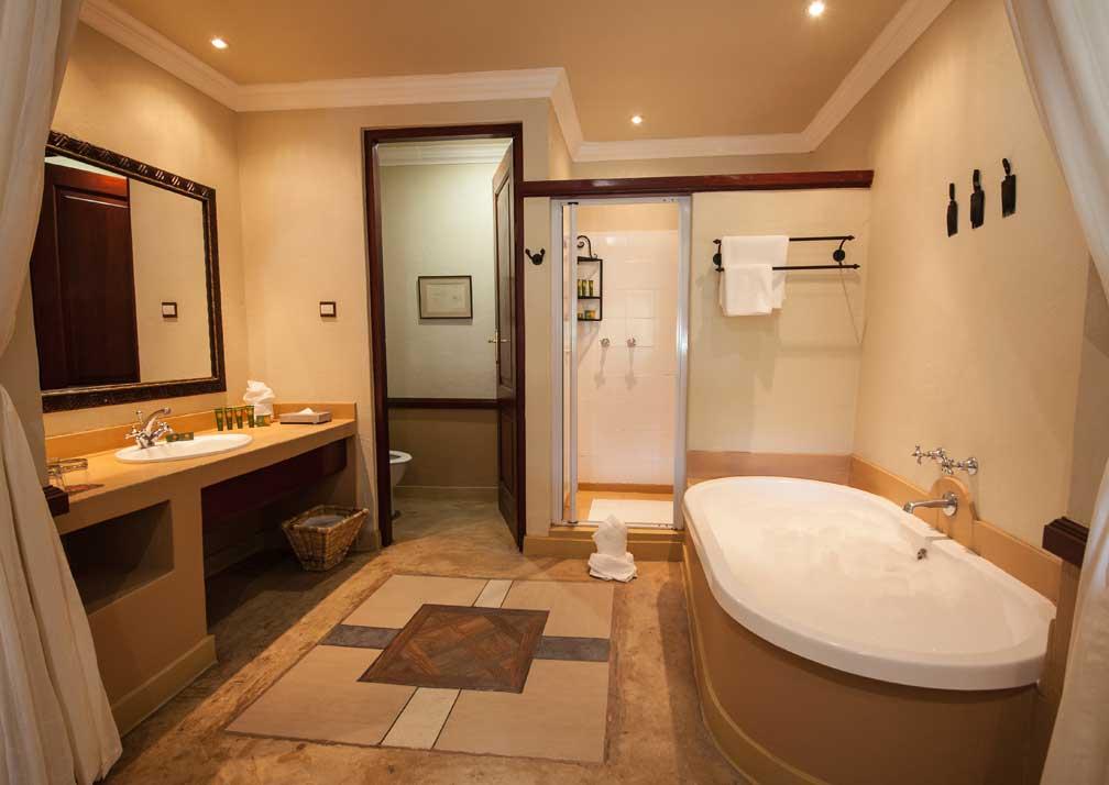 Chobe Safari Lodge safari room bathroom