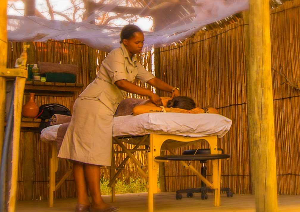 Delta Camp massages