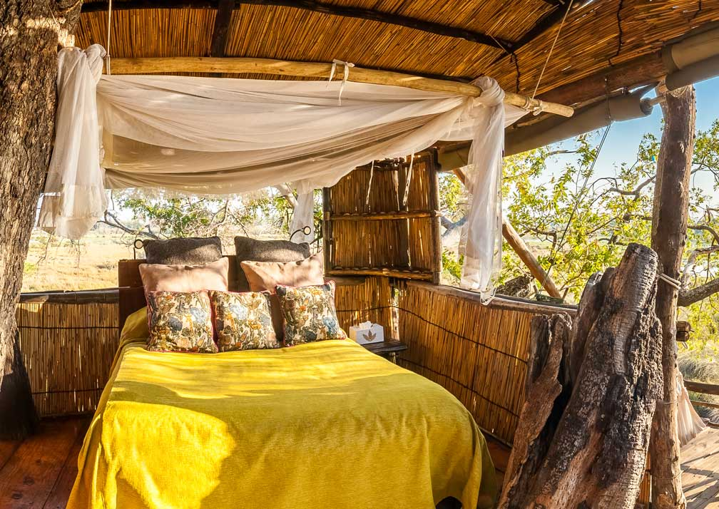 Delta Camp bedroom