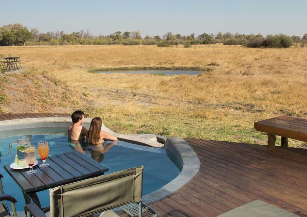 Machaba Camp pool