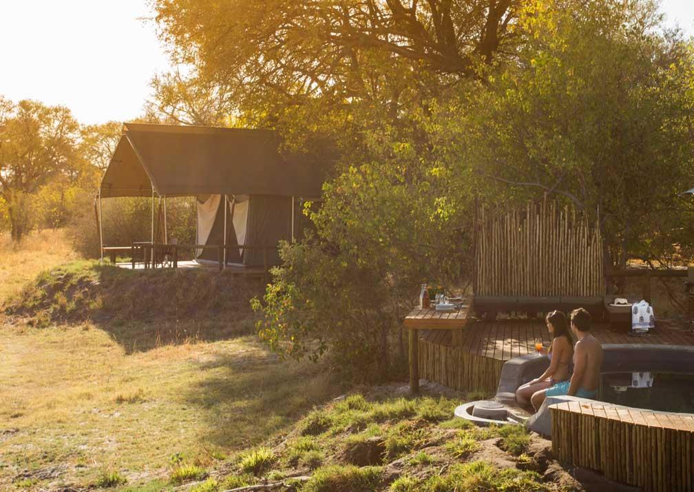 Machaba Camp poolside