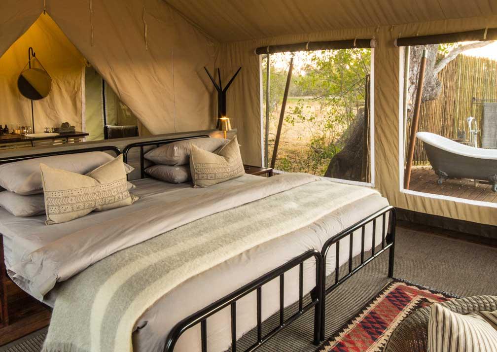 Machaba Camp bedroom