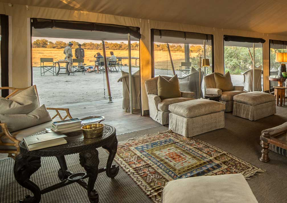 Machaba Camp lounge