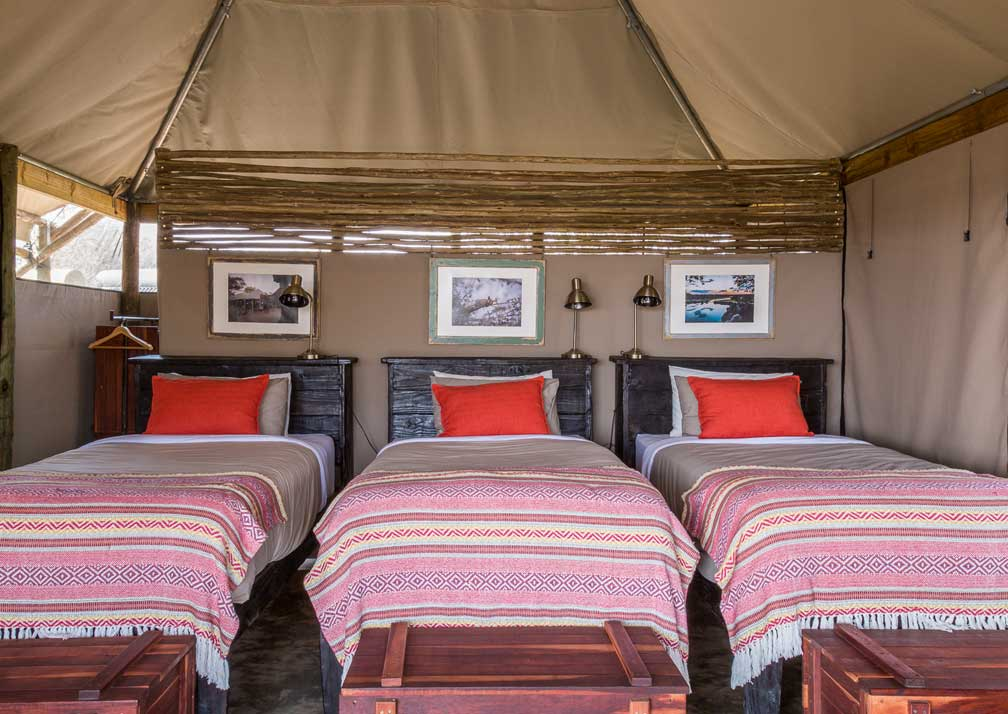 Meno a Kwena bedroom
